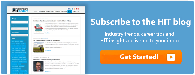 Subscribe to the Healthcare IT Leaders Blog Today